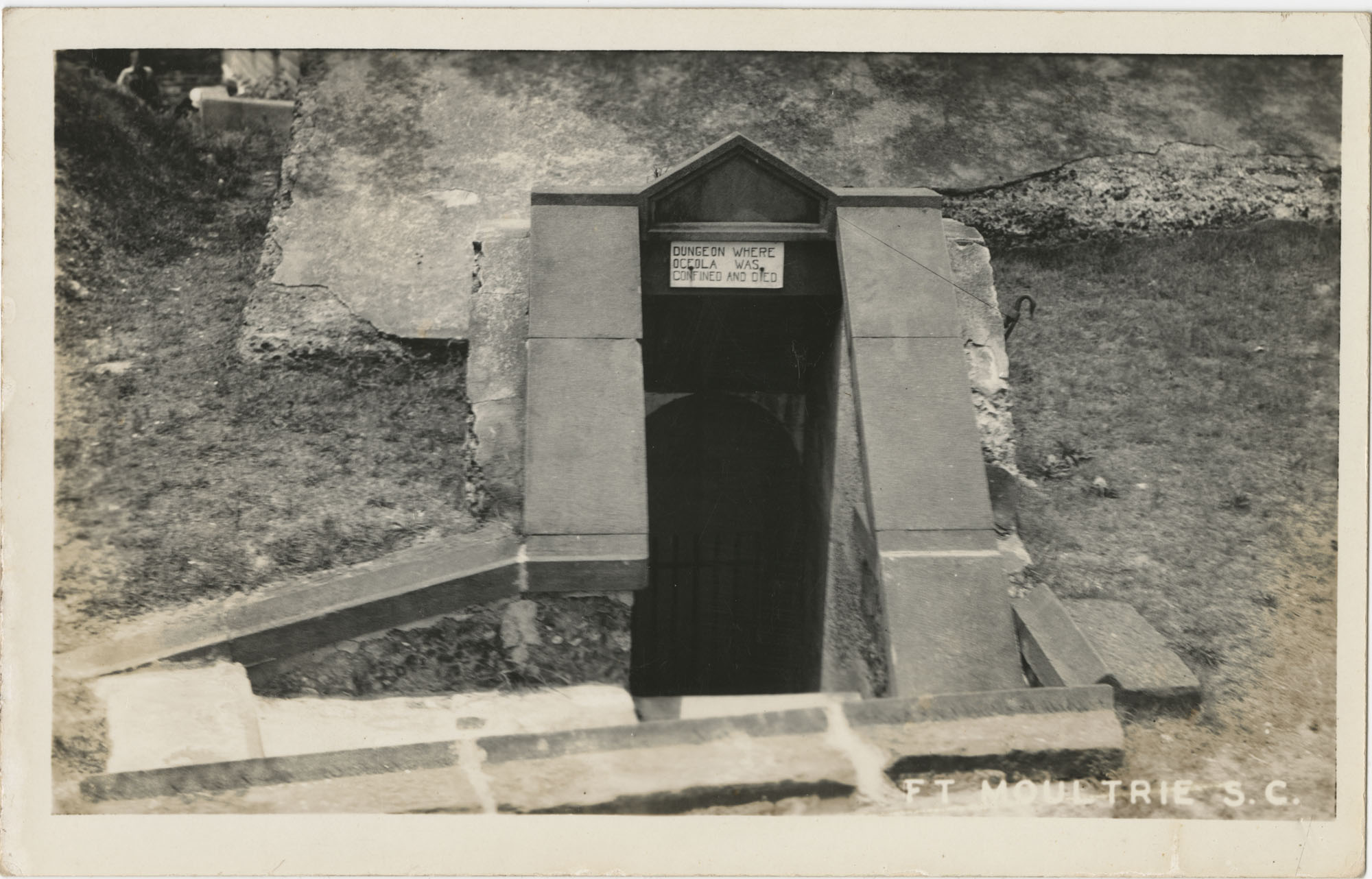 Dungeon Where Oceola was Confined and Died