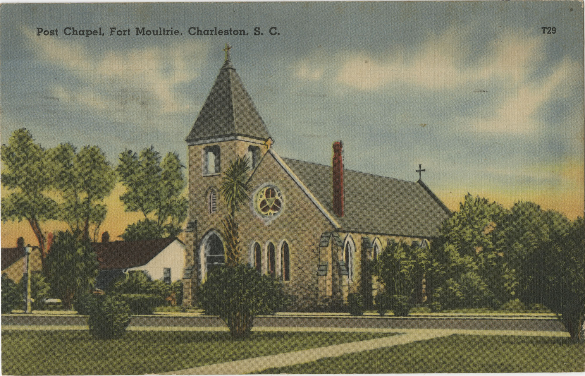 Post Chapel, Fort Moultrie, Charleston, S.C.