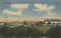 Post Headquarters and Parade Ground, Old Fort Moultrie, Charleston, S.C.