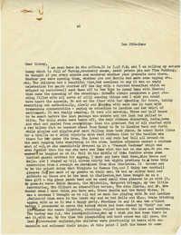 Letter from Gertrude Sanford Legendre, December 25, 1942