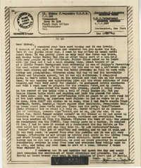 Letter from Gertrude Sanford Legendre, December 27, 1943
