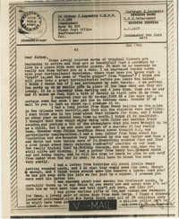Letter from Gertrude Sanford Legendre, December 29, 1943