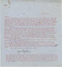 Letter from Gertrude Sanford Legendre, December 27, 1942