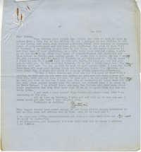 Letter from Gertrude Sanford Legendre, December 26, 1942
