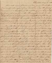 062. Letter to James B. Heyward -- December 30, 1835 (sender unknown)
