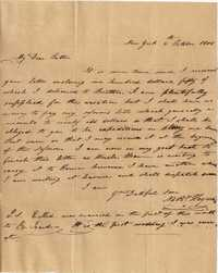 003. Nathaniel Heyward (II) to Father -- October 6, 1806