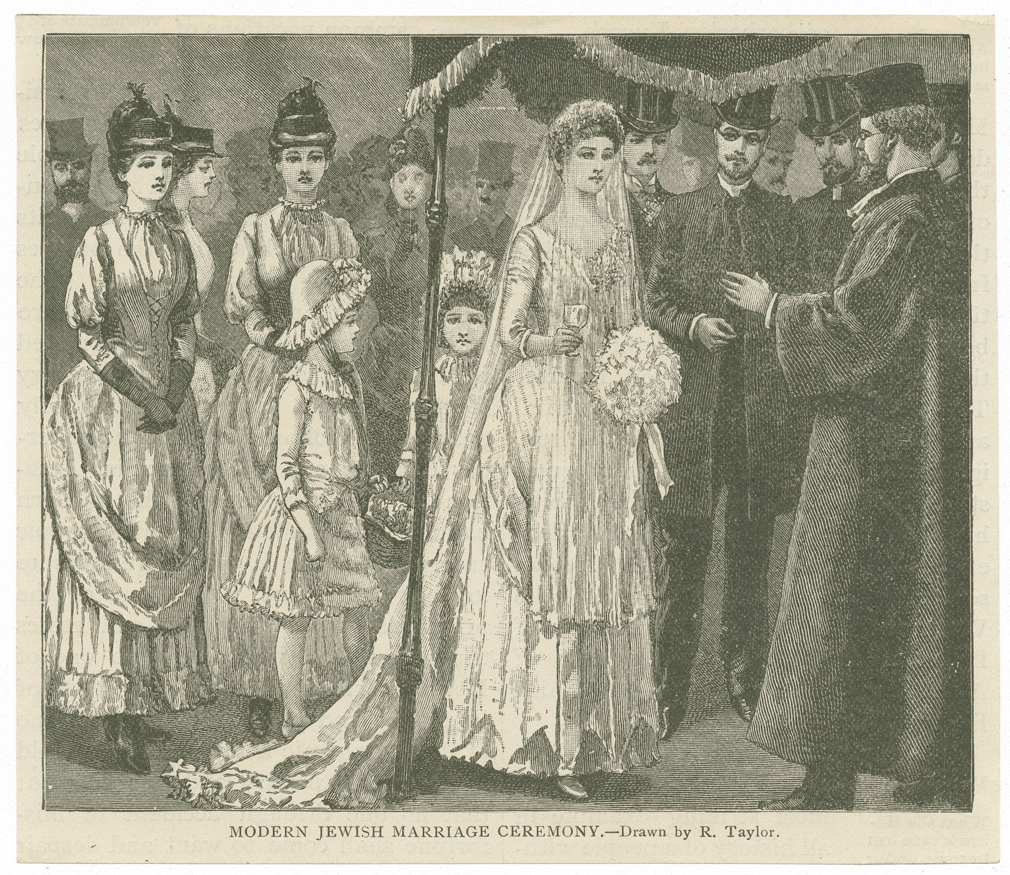 Modern Jewish marriage ceremony
