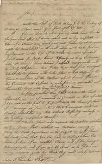 Letter to John F. Grimke from James Delaine, September 3, 1790