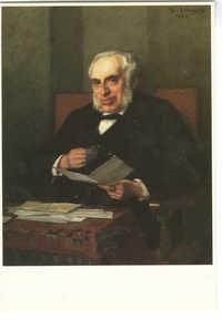 Thérèse Schwartze (1851-1918). A. C. Wertheim, olieverf op doek / oil on canvas, 1896