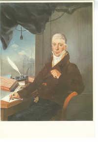 Harmanus Langerveld (1777-1830). David Henriques de Castro, pastel / crayon, 1815
