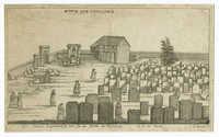 Der Juden begräbnisse wie sie in Fürth anzusehen / בית הקברות בקק פירדא
