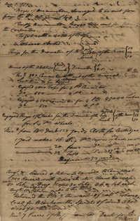 John F. Grimke Orderly Book Notes, 1779