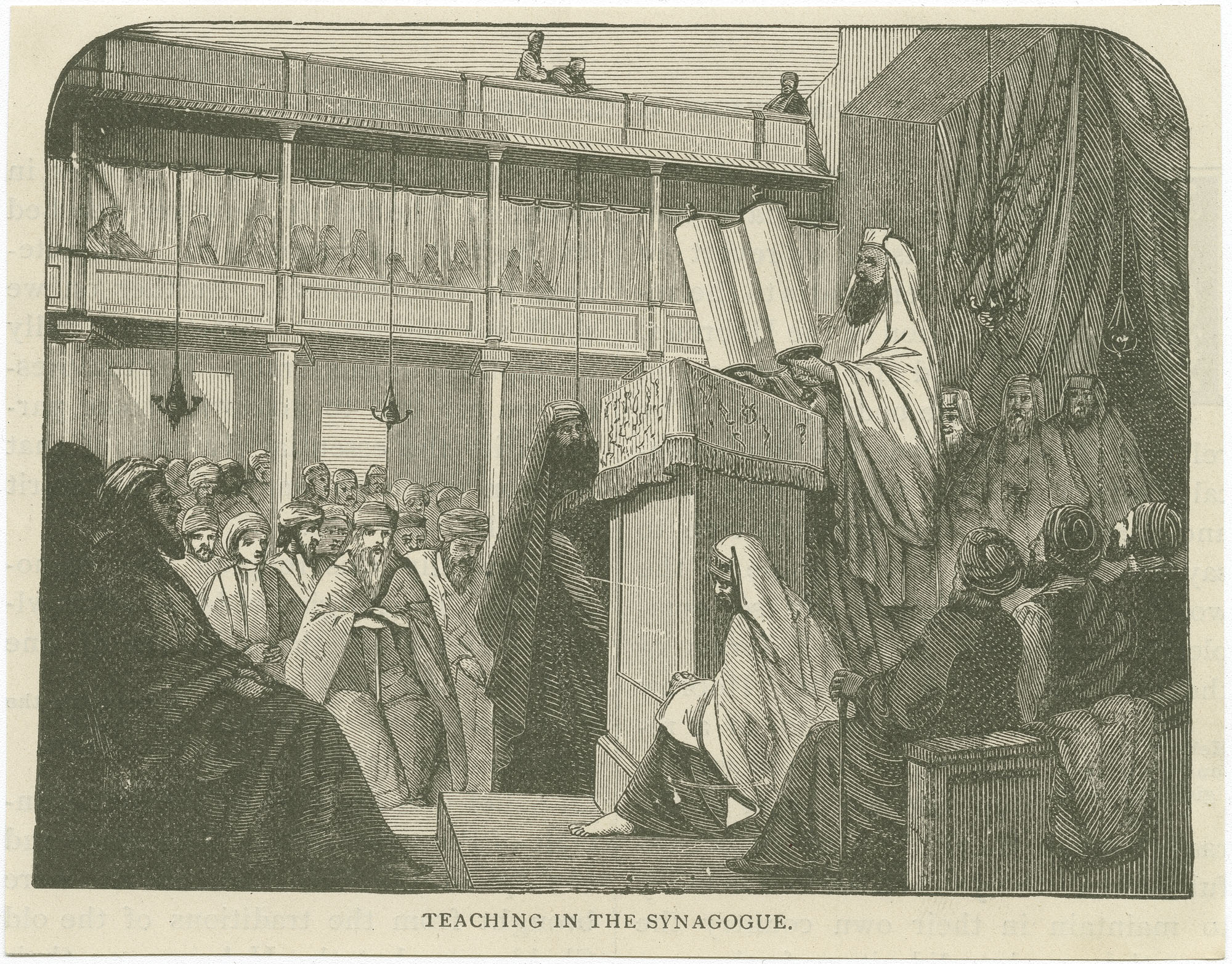 Teaching in the synagogue