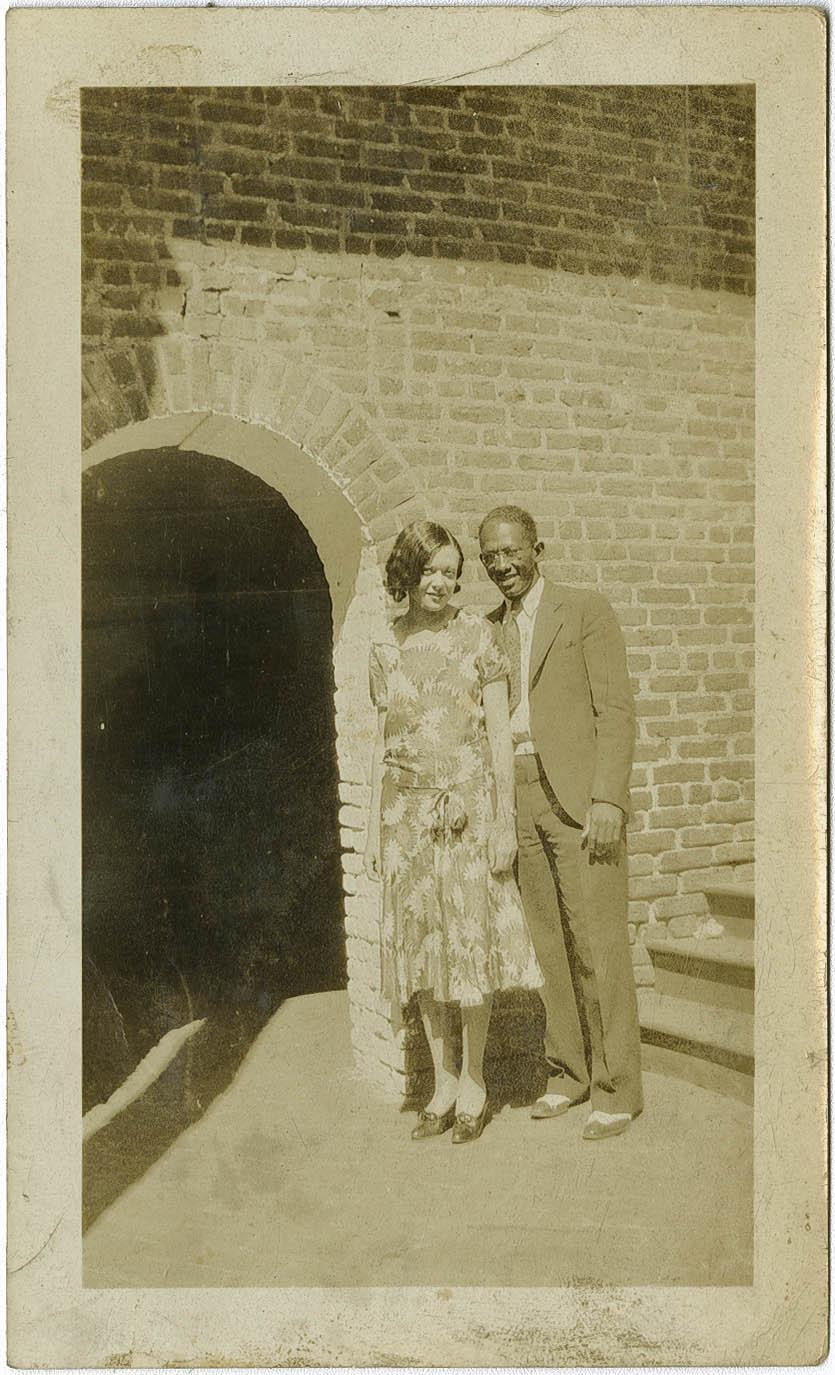 Avery Faculty Miss Johnson and Mr. John W. Whittier