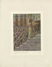 La dédicace par Solomon du Temple