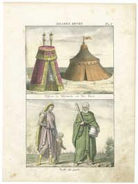 Padiglione e Tabernacoli con libri Ebrei