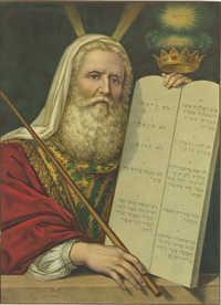 [Moses and the Ten Commandments]