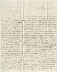 Letter to Anna R. Frost from Frederick Grimke, August 30, 1861