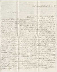 Letter to Anna R. Frost from Frederick Grimke, November 5, 1861