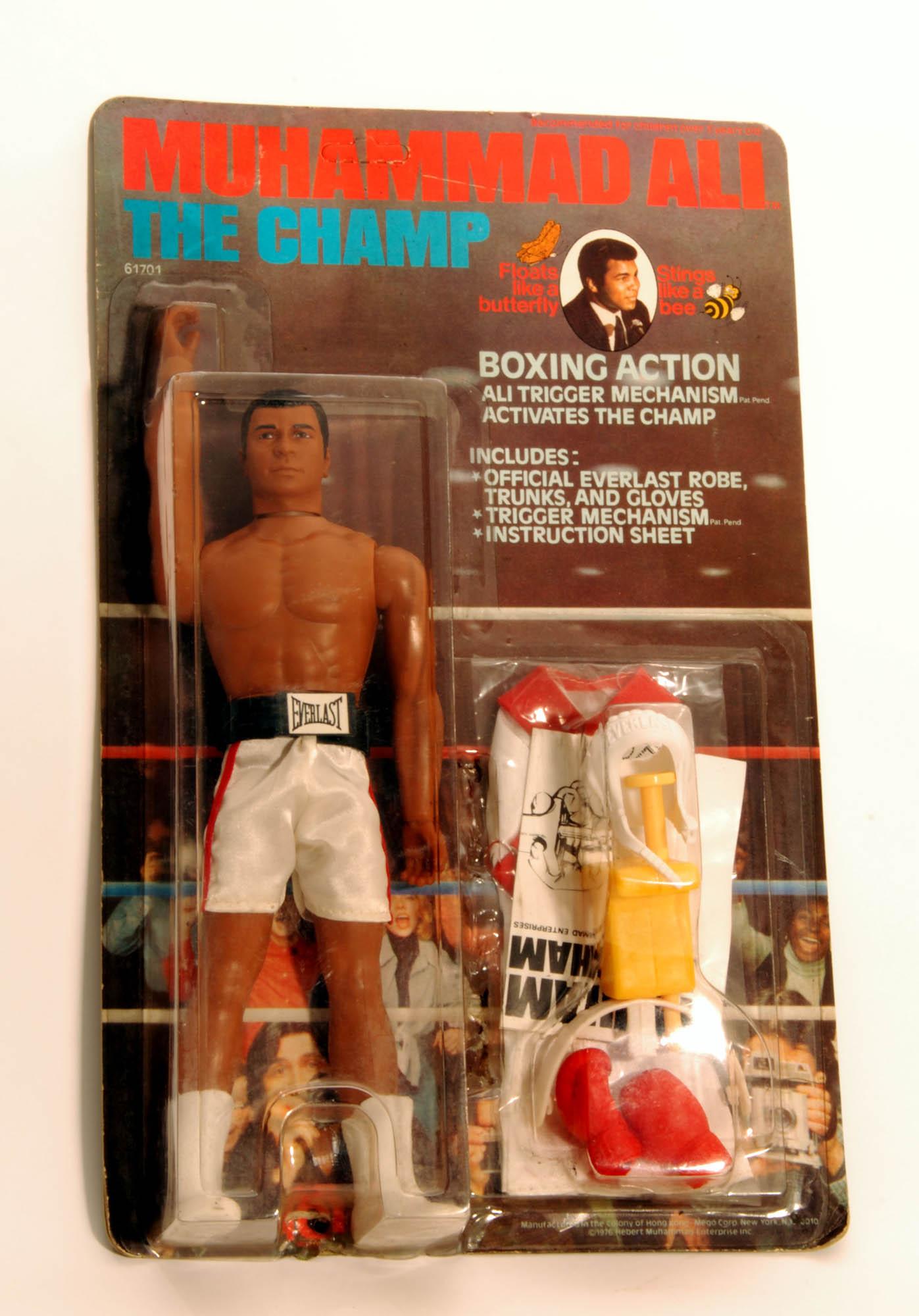 Muhammad Ali action figure