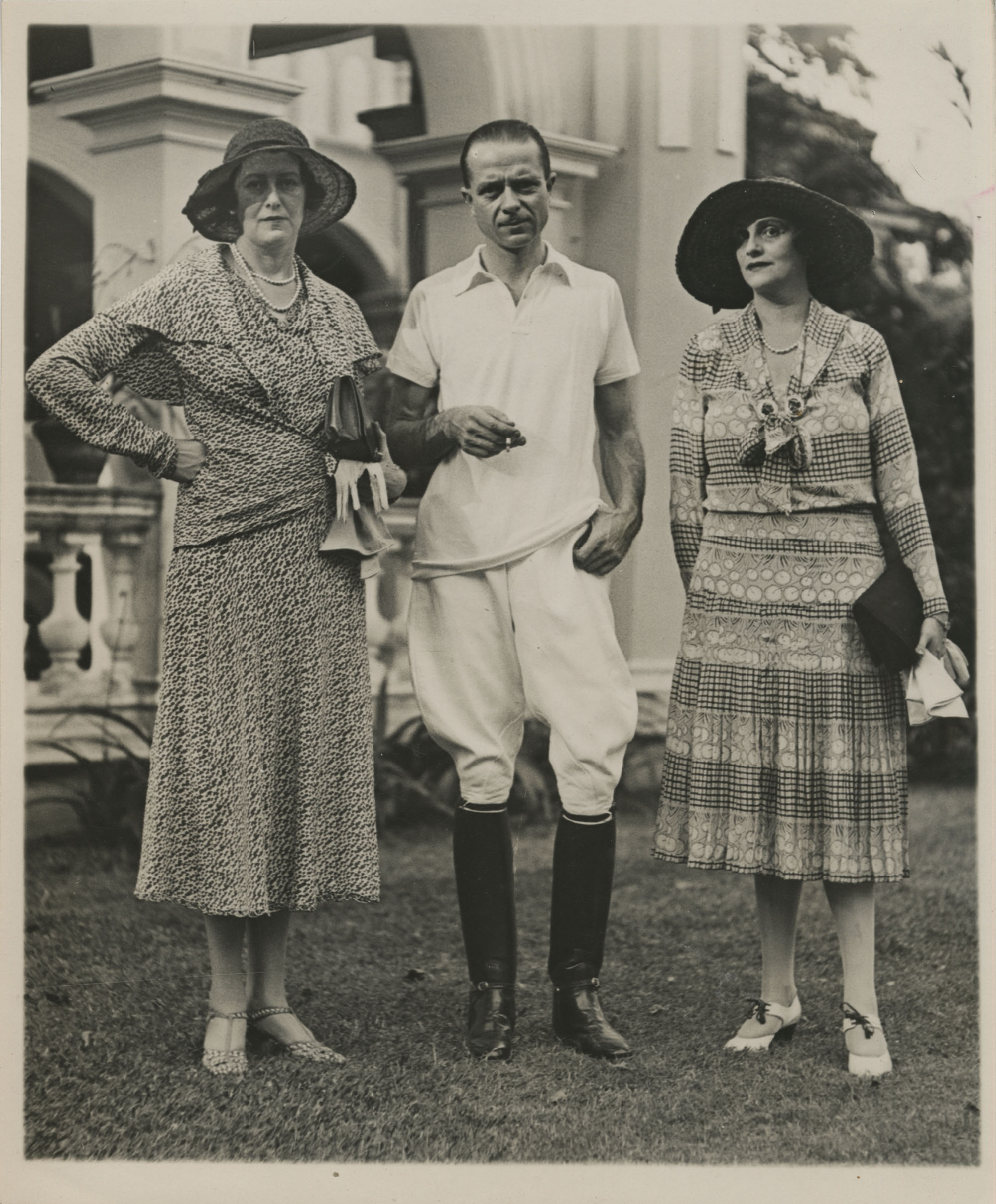 Mario Pansa, the Duchess of Sutherland, and Audrey Parr