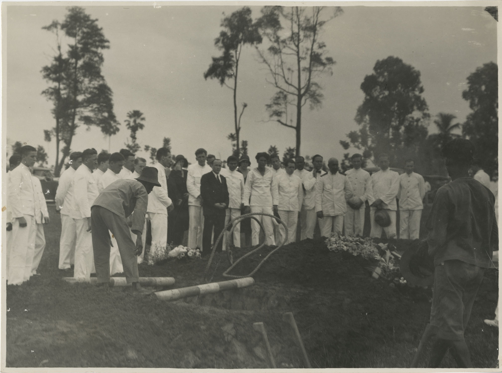 An Italian Naval funeral, Photograph 1