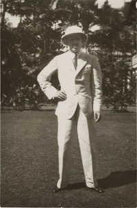 King Alfonso XVIII in Sri Lanka