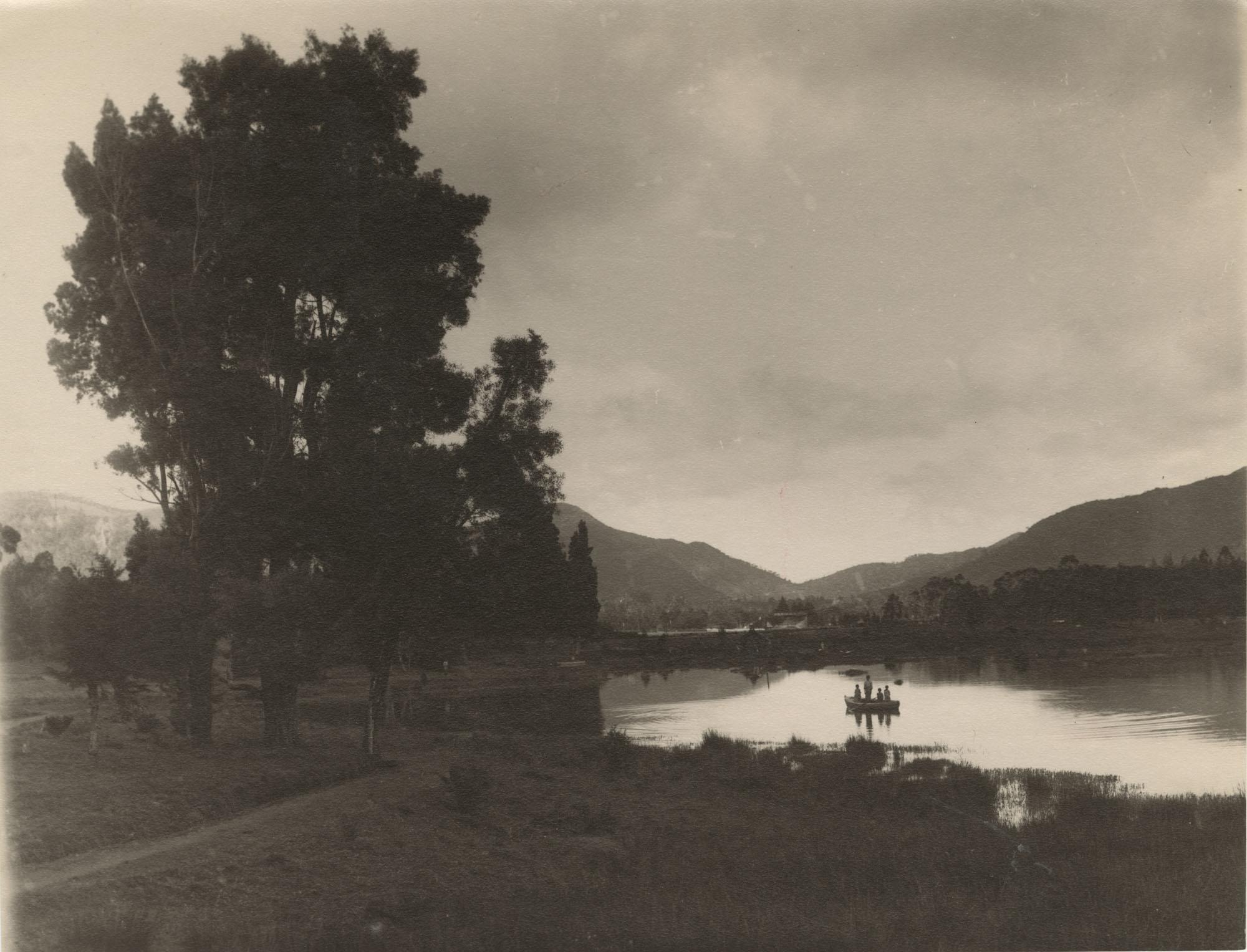 A pond in Sri Lanka