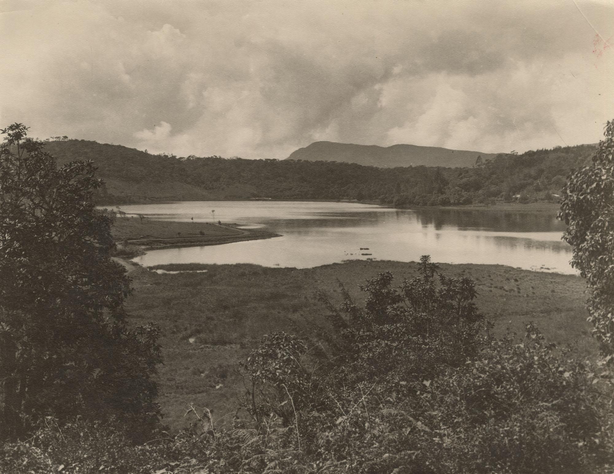 A landscape in Sri Lanka