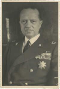 Mario Pansa in uniform, Photograph 2