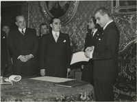 Mihai Antonescu's visit to Benito Mussolini, Photograph 37