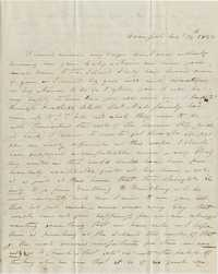074. Aunt to James B. Heyward -- August 14, 1843