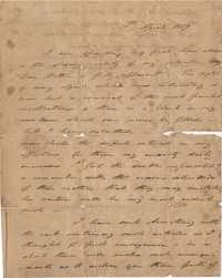 028. Nathaniel Heyward (II) to Mother-in-Law -- April 19, 1819