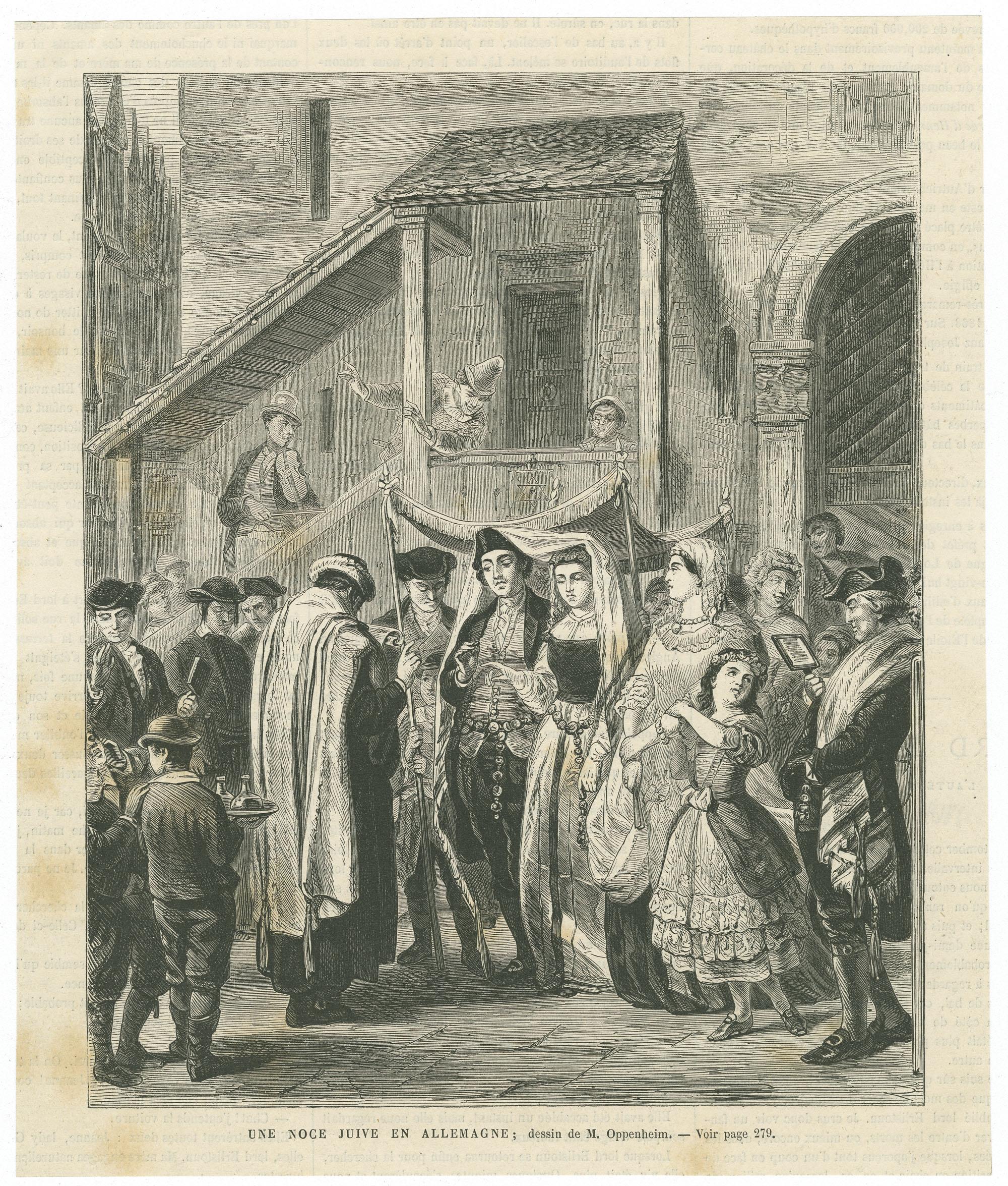 Une noce juive en Allemagne
