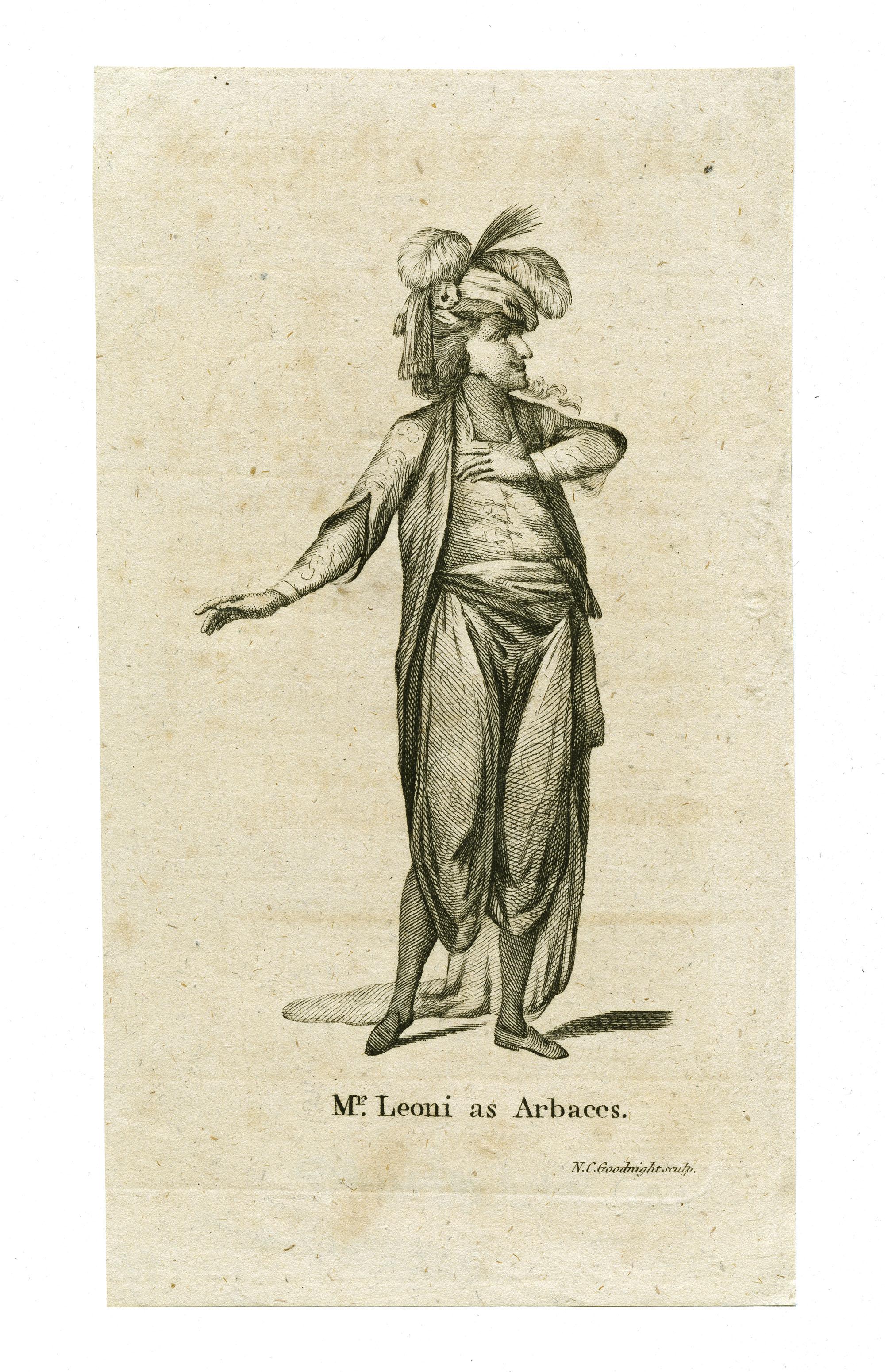 Mr. Leoni as Arbaces