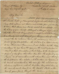 Letter to James McAdam of the Belfast Natural History Society from Thomas S. Grimke, April 5, 1832