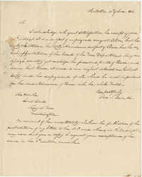 Letter to Lewis Case from Thomas S. Grimke, June 26, 1832