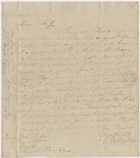 Thomas S. Grimke Autograph Collection, letter from Joseph Habersham to Joseph Clay, Savannah, Georgia, December 15, 1800