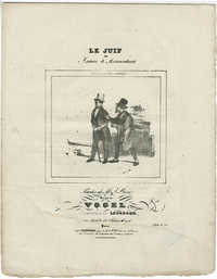 Le Juif, ou Isaac le Brocanteur