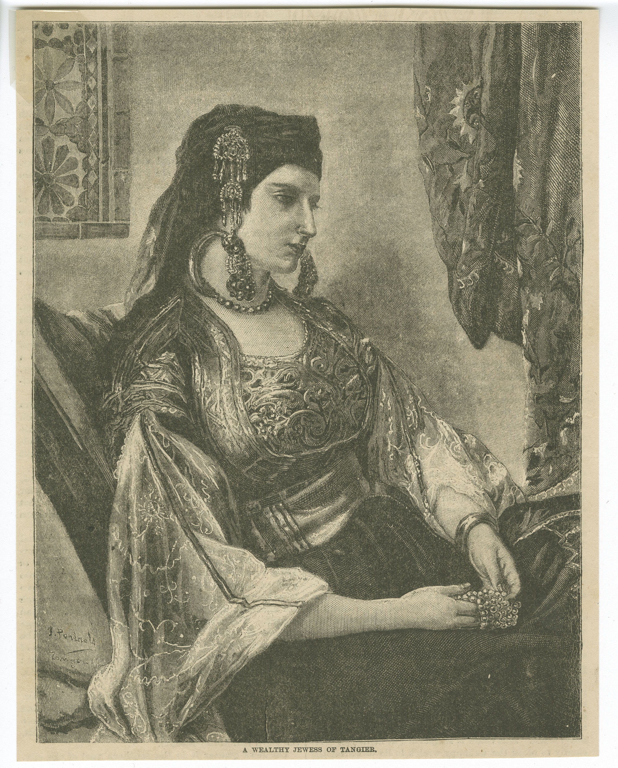A wealthy Jewess of Tangier