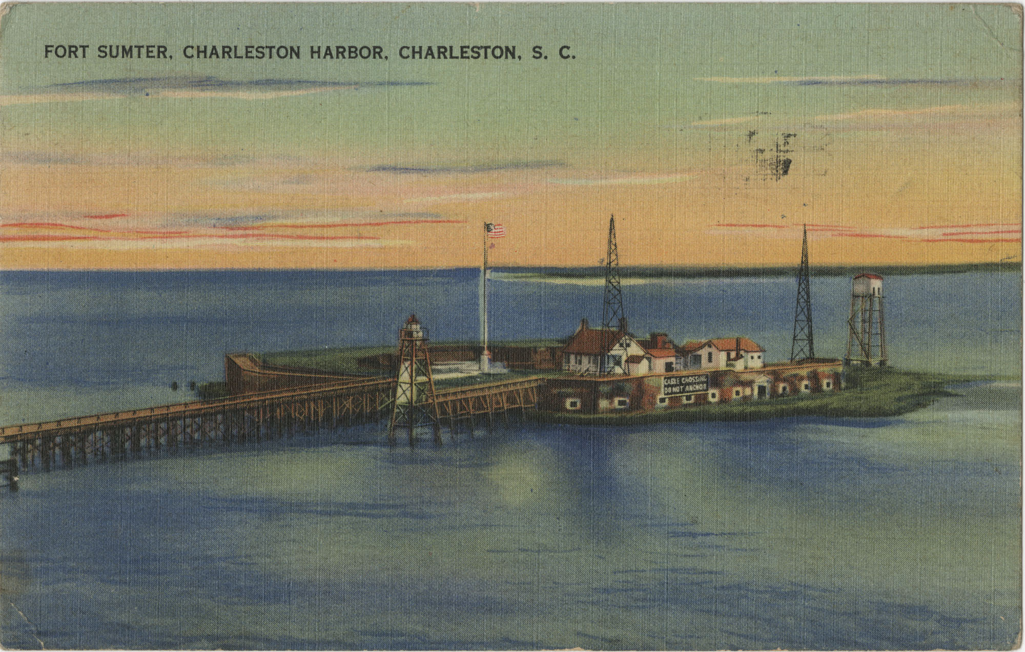 Fort Sumter, Charleston Harbor, Charleston, S.C.