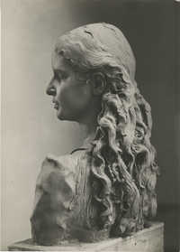 Sculpture of a girl by Antonio Berti, Photograph 2