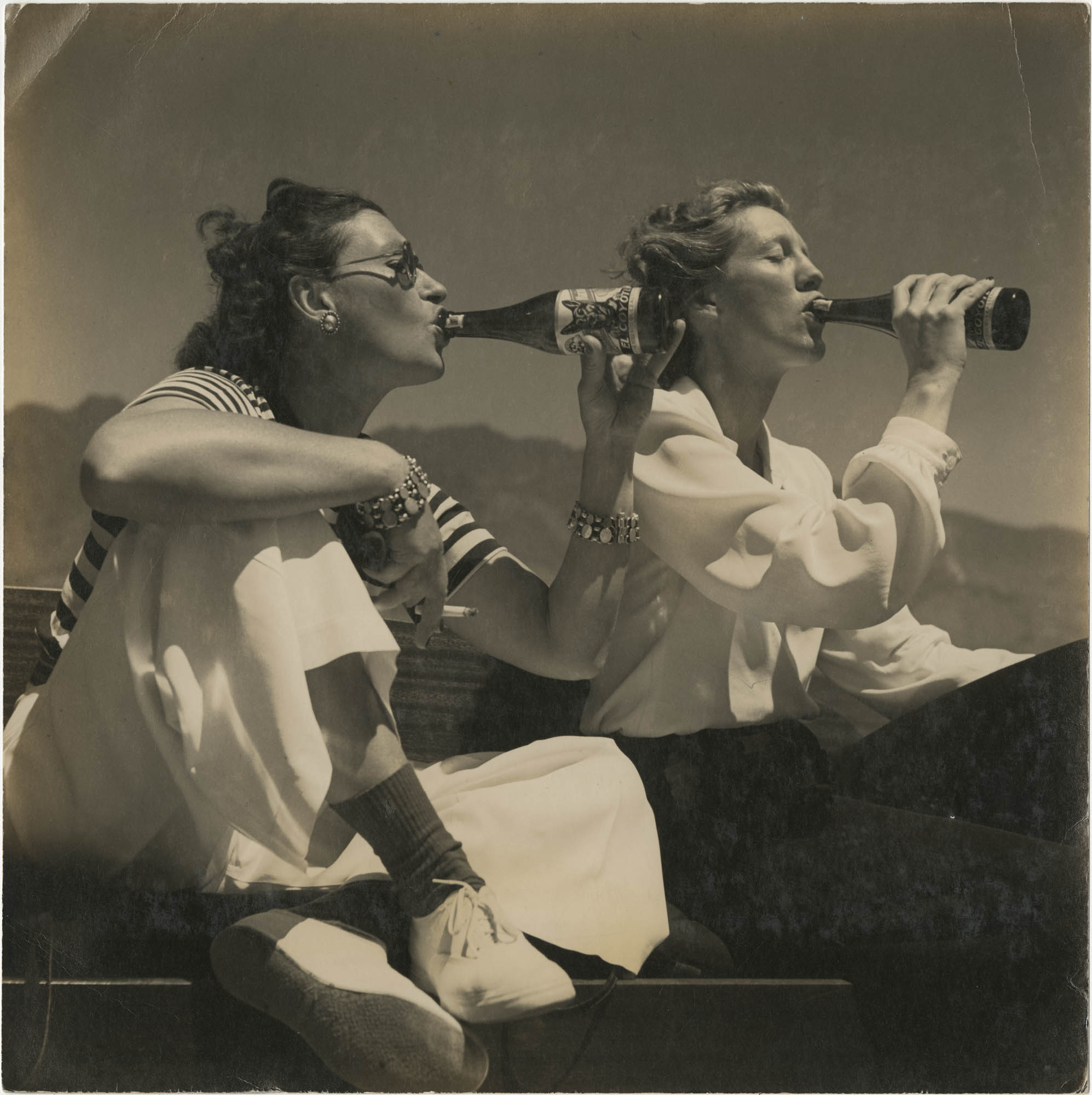 Photograph of Gertrude Legendre and Toni Frissell