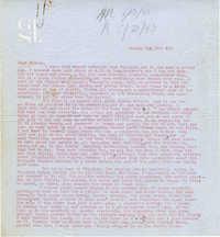 Letter from Gertrude Sanford Legendre, May 16, 1943