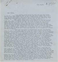 Letter from Gertrude Sanford Legendre, June 29, 1944