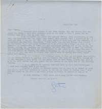 Letter from Gertrude Sanford Legendre, March 3, 1943