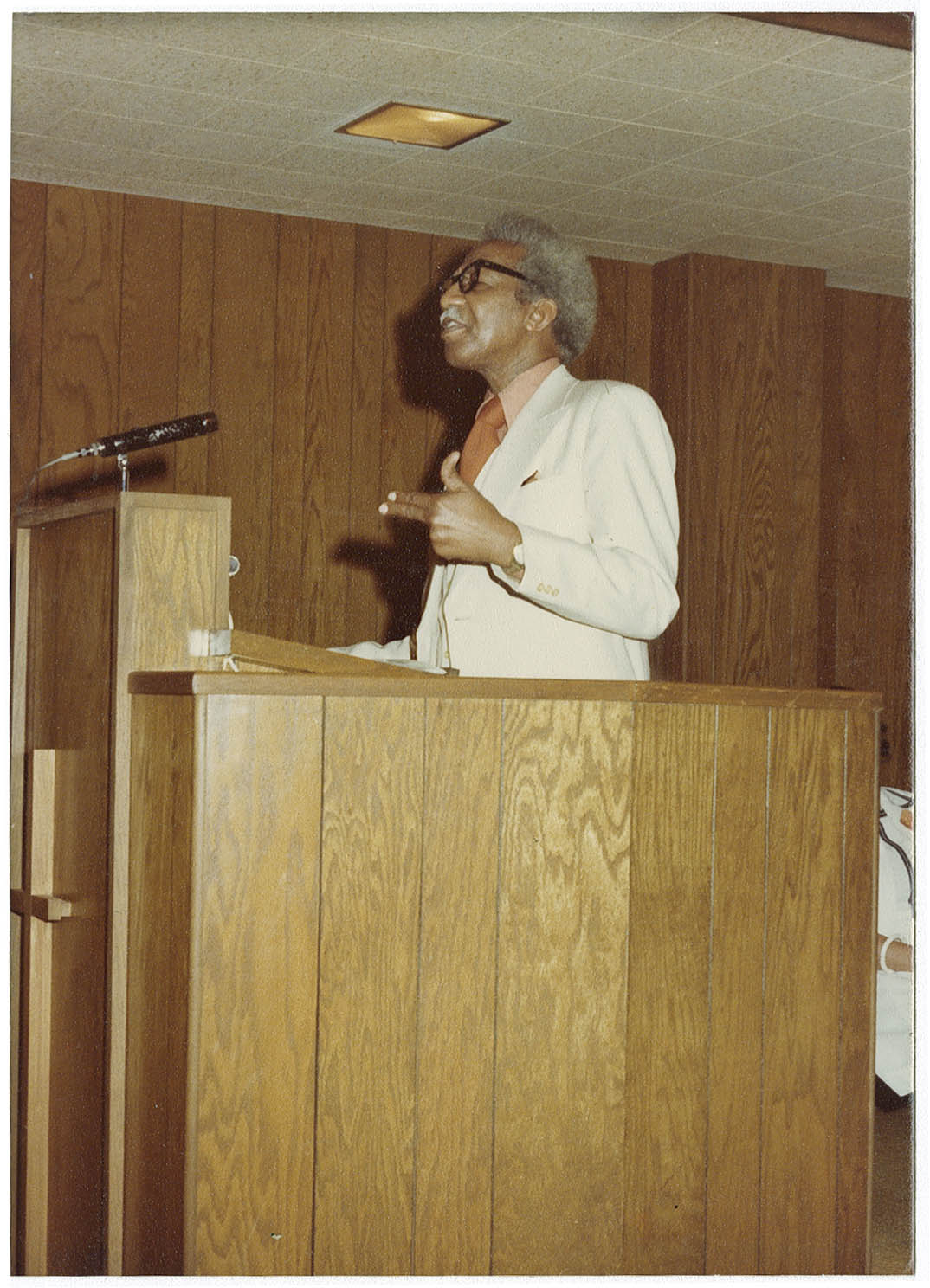H. Carl Moultrie Gives Speech at Avery Class of 1932 Reunion