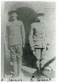 Two Male Avery Students in Uniform