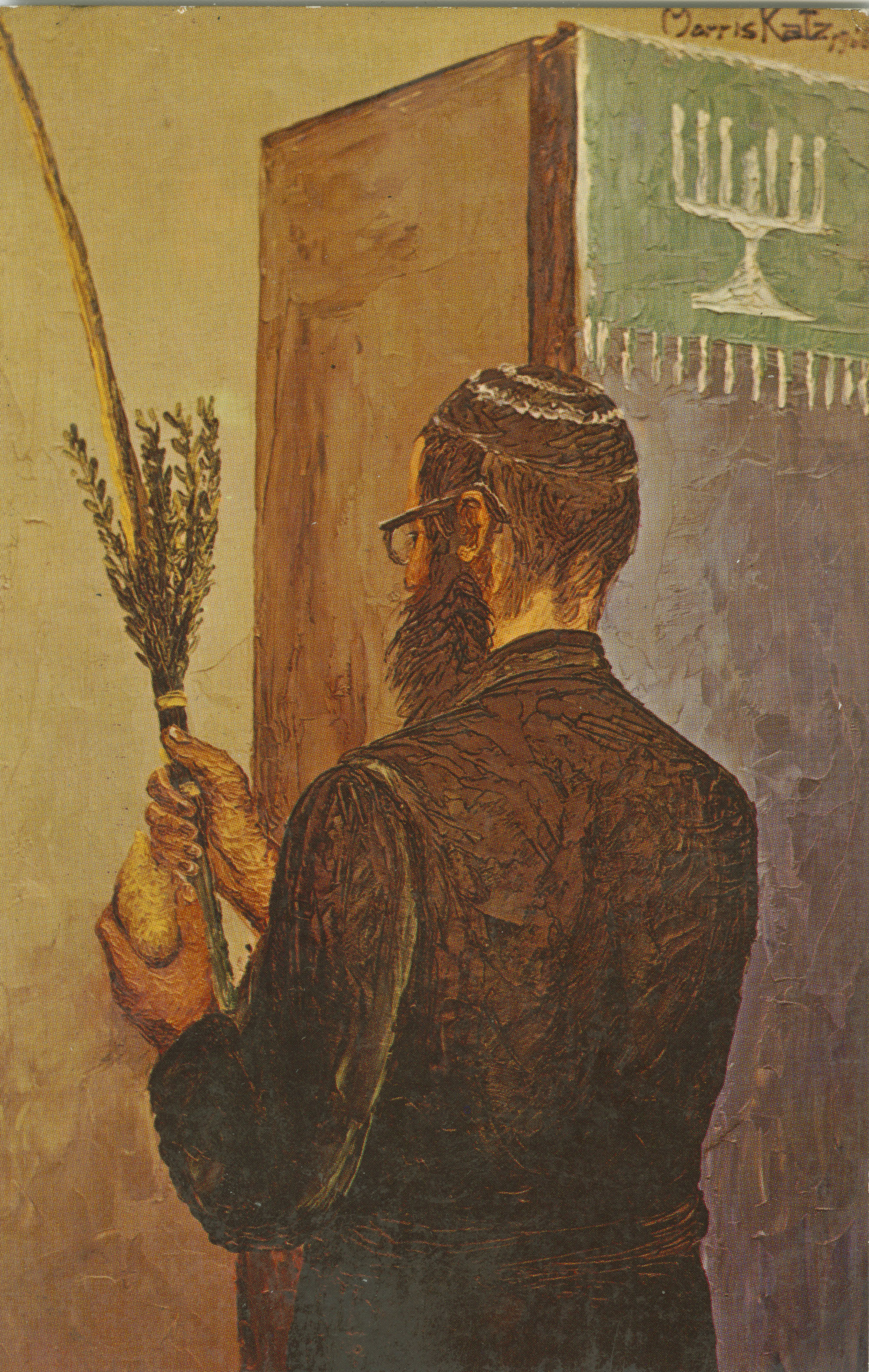The Chusid with Esrog