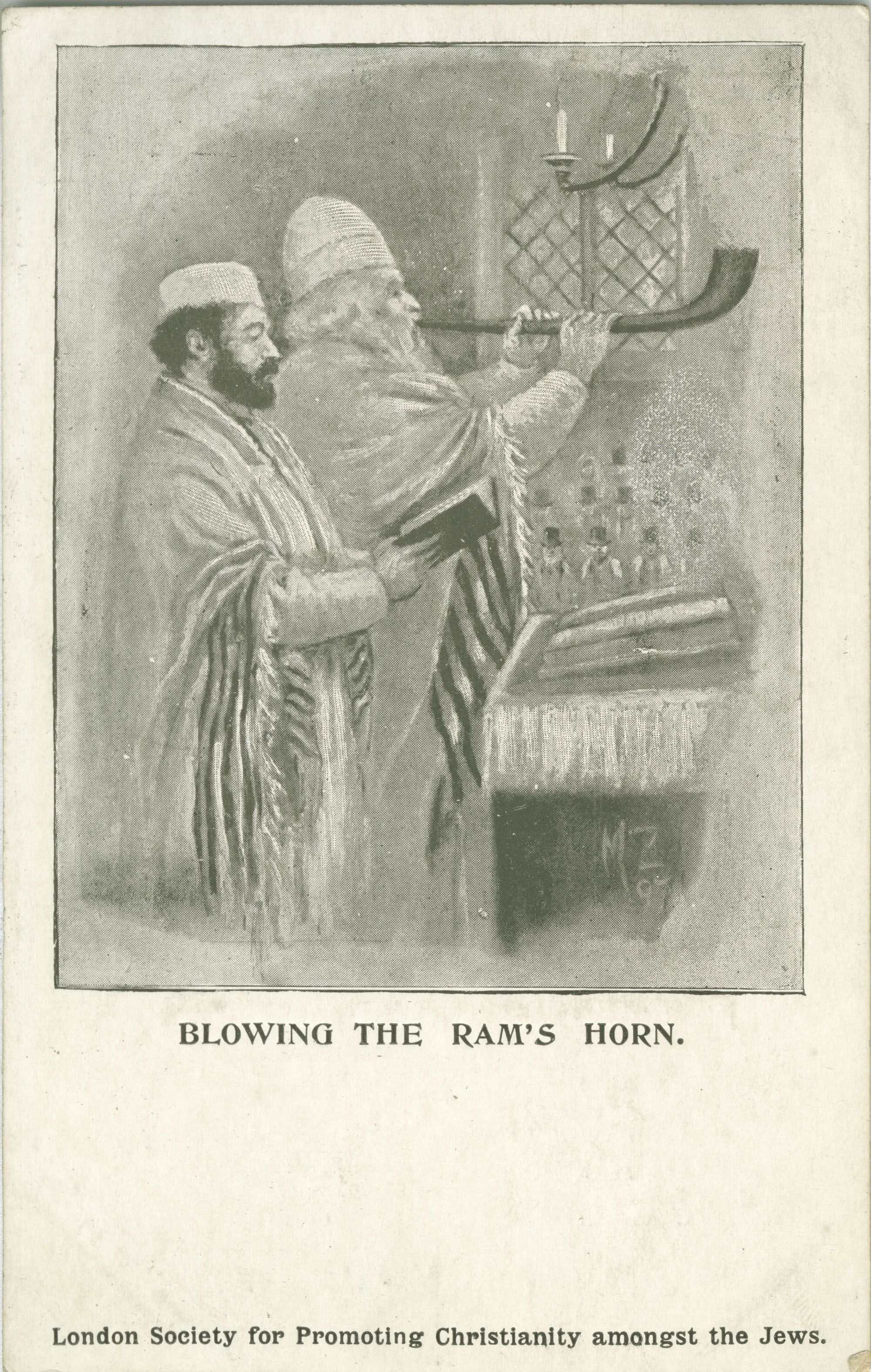 Blowing the Ram's Horn